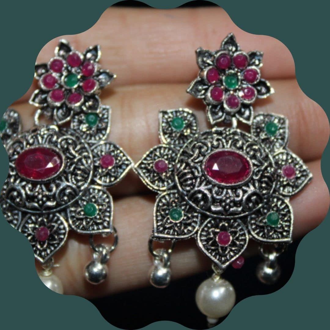 Handmade Stone Necklace set 5