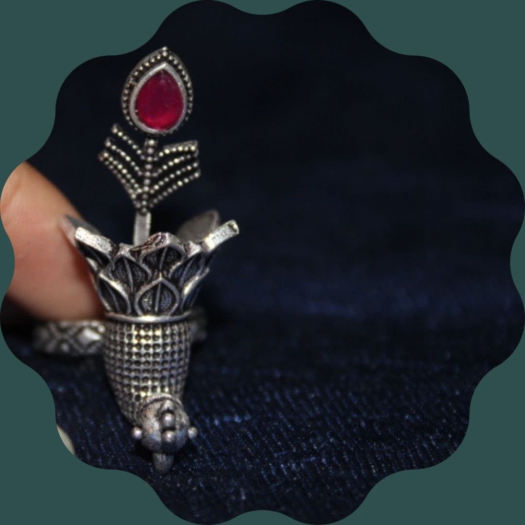 Handmade Bird Ring 4