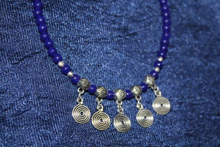 Handmade Stone bracelet – Blue 4