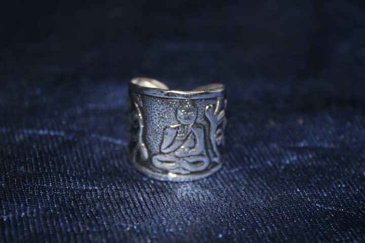 Handmade Budhdha Ring 3