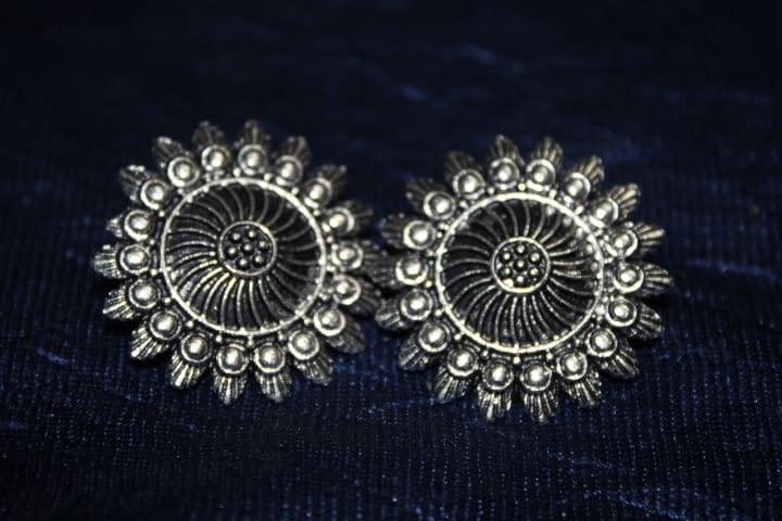 Handmade Sun Earring 3