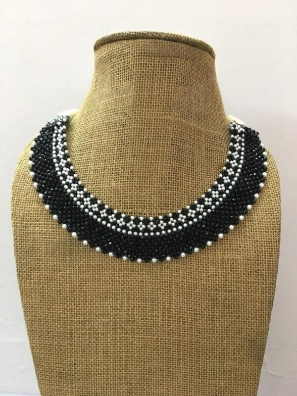 Handmade Cristal Pearl Necklace 3