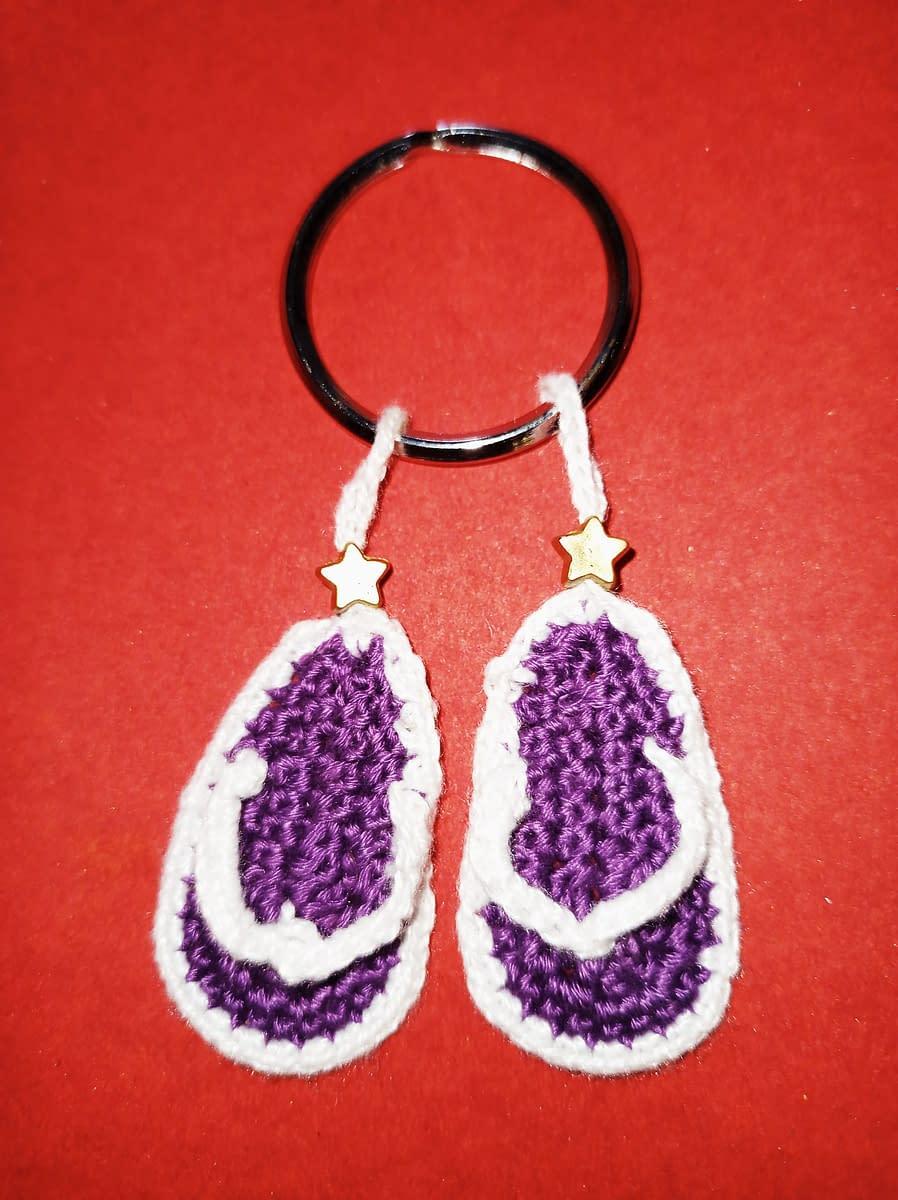 Handmade Crochet keychain 5