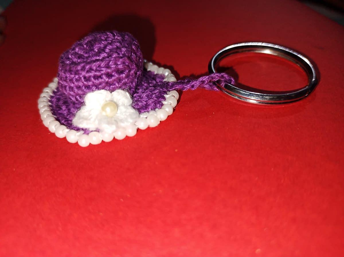 Handmade Crochet keychain 3