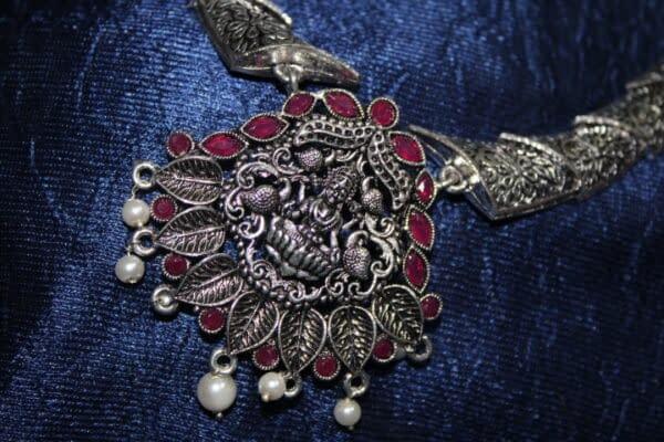 Handmade Stone necklace set 4