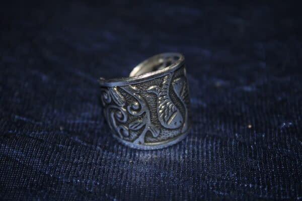 Handmade Fish Ring 3