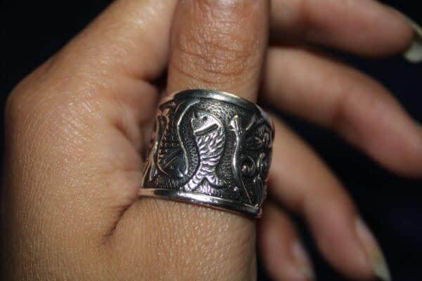 Handmade Fish Ring 4