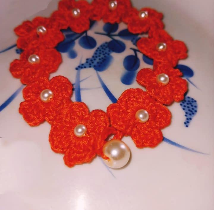 Handmade Crochet bracelet 4