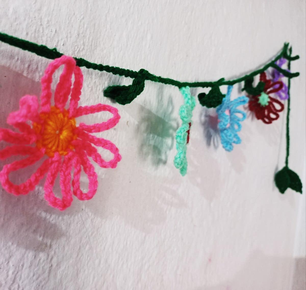 Handmade Crochet toran 7