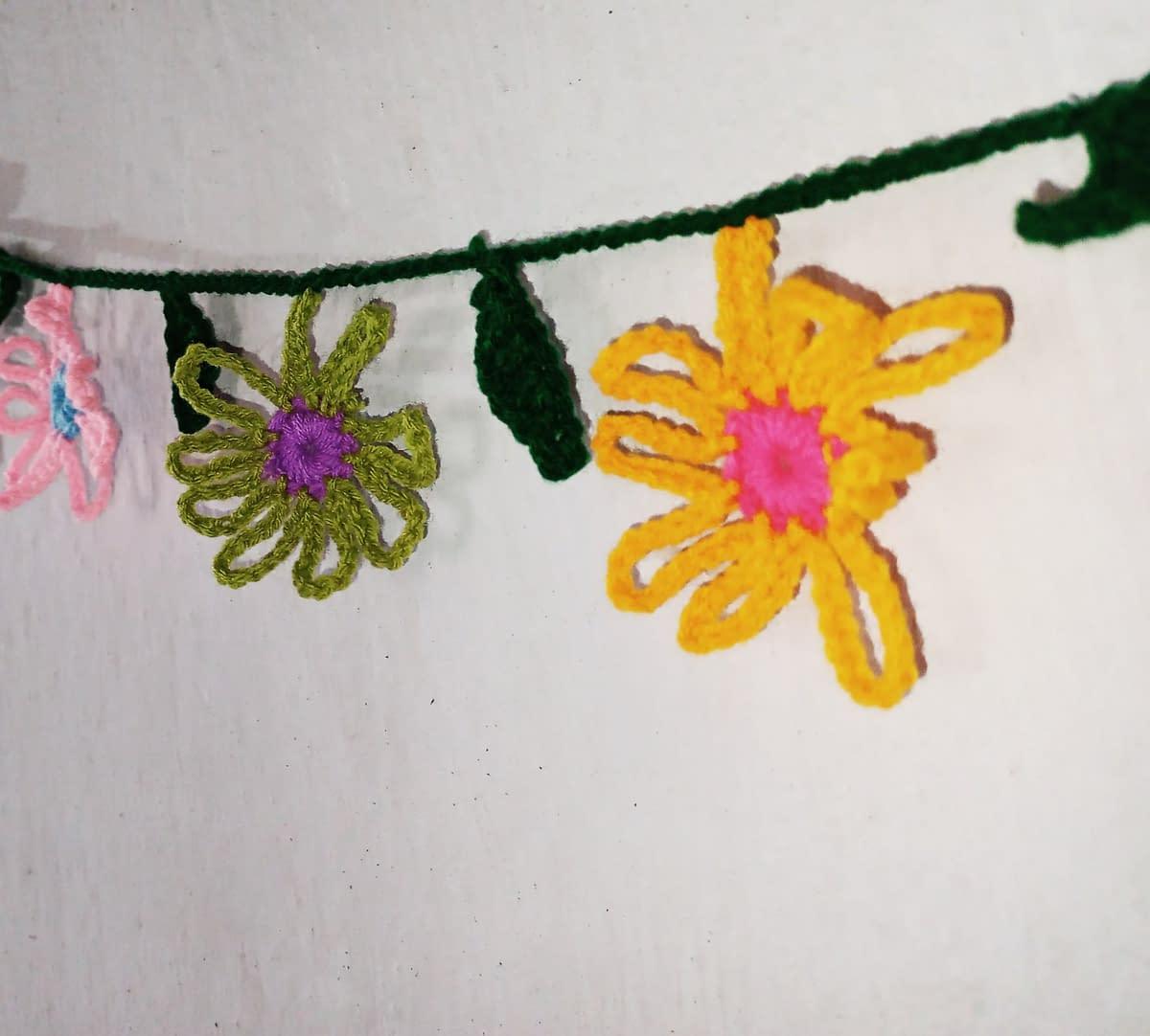 Handmade Crochet toran 6