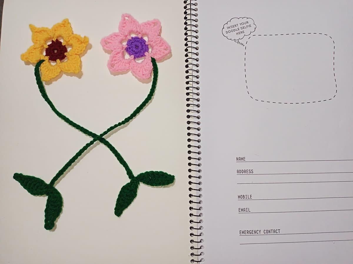 Handmade Crochet book-marks 5