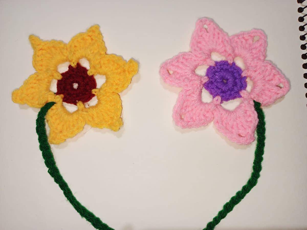Handmade Crochet book-marks 6