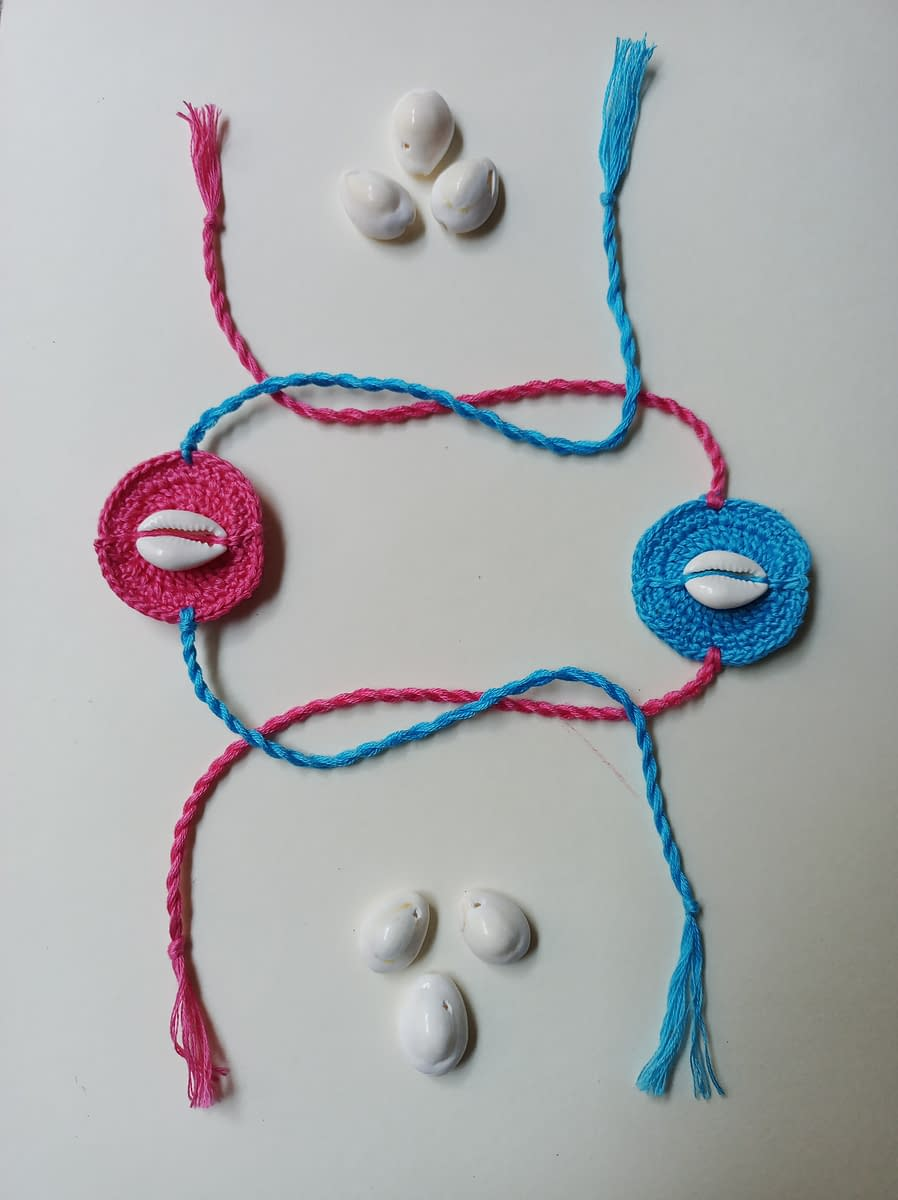 Handmade Crochet Rakhi-3 3