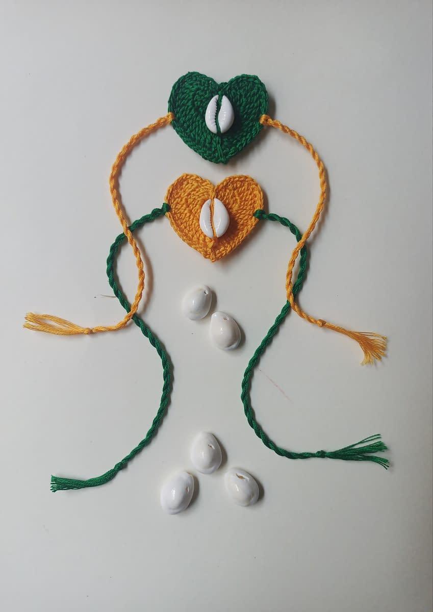 Handmade Crochet Rakhi-4 3