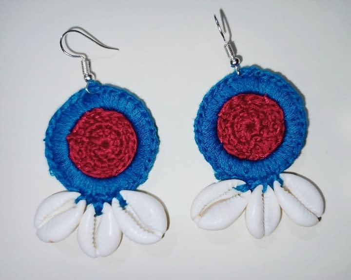Handmade Crochet earrings combo 4