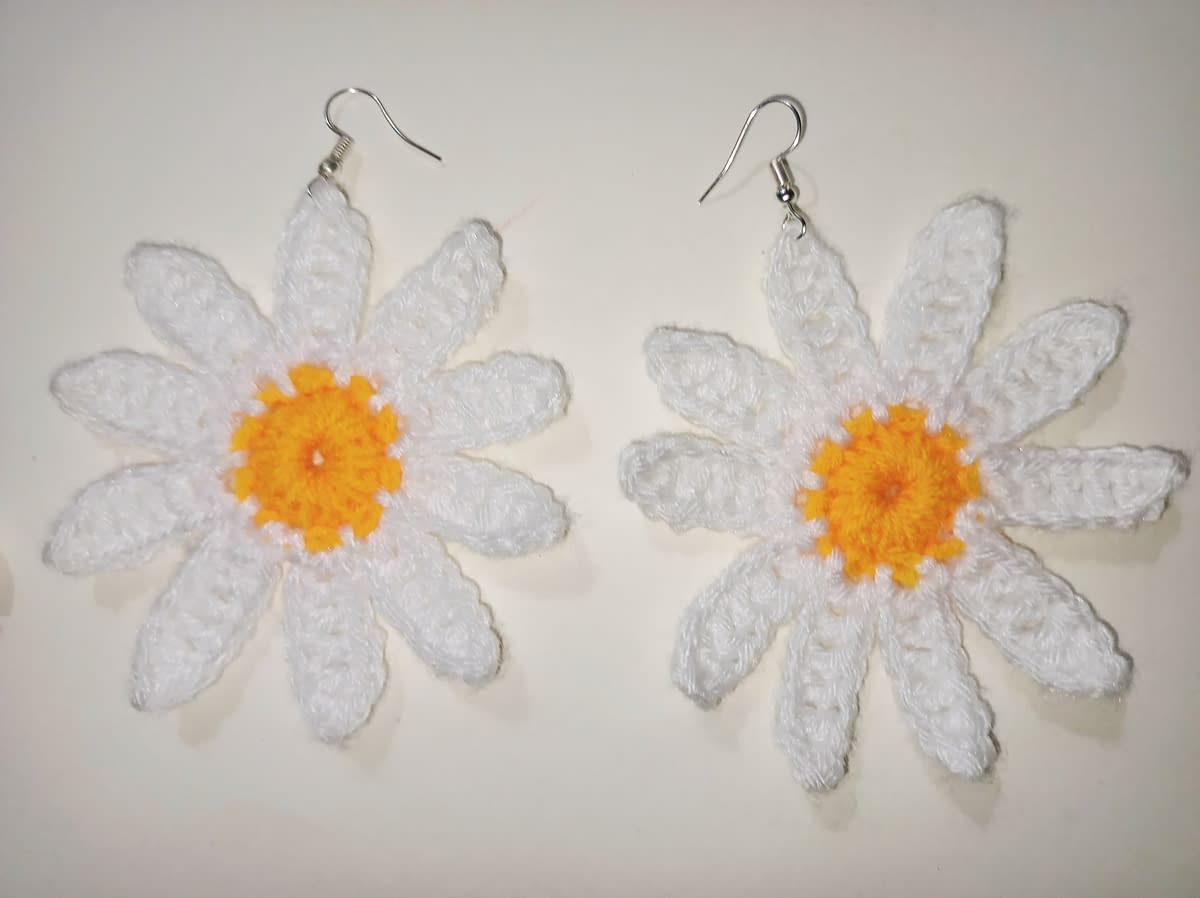 Handmade Crochet earrings combo 5