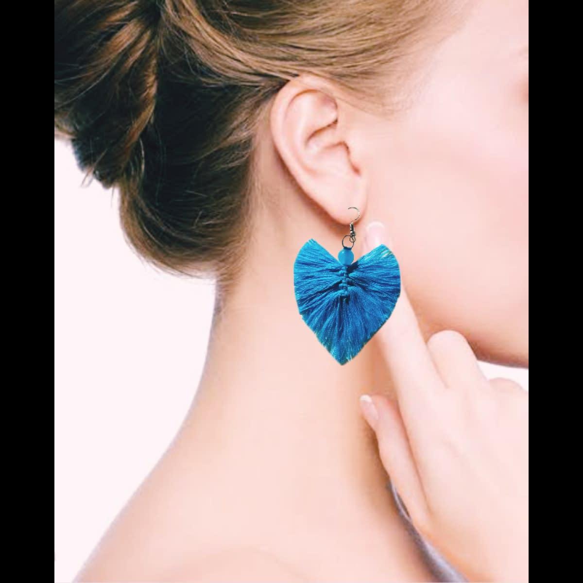Handmade Macrame earrings 4
