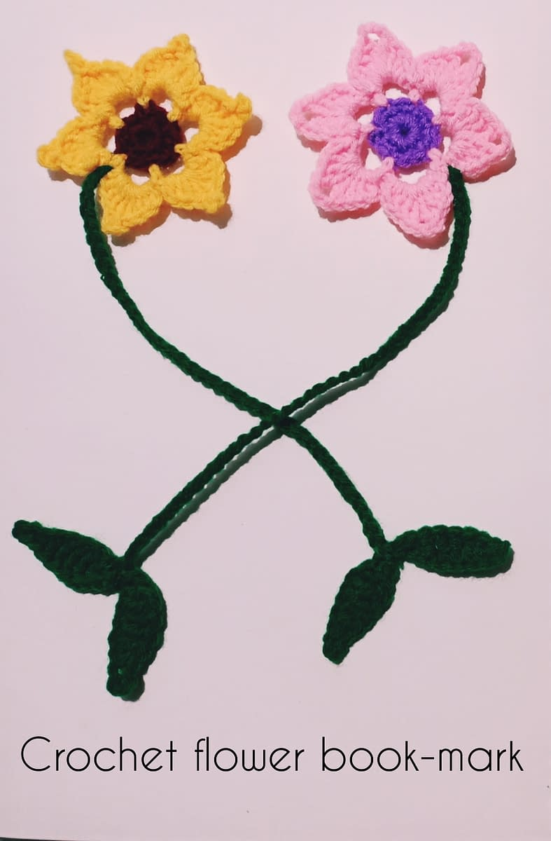 Handmade Crochet book-marks 3