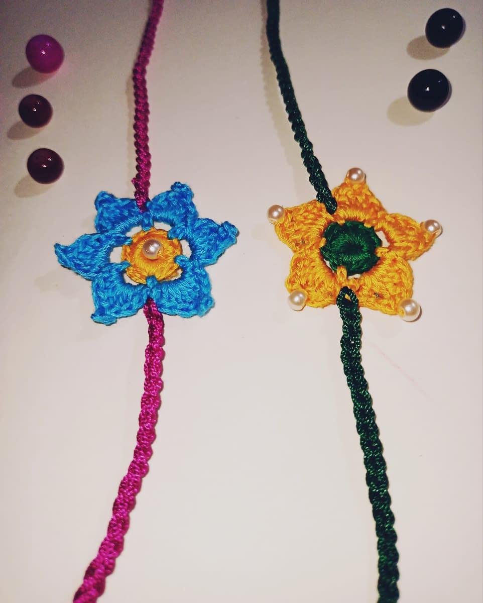 Handmade Crochet Rakhi-1 4