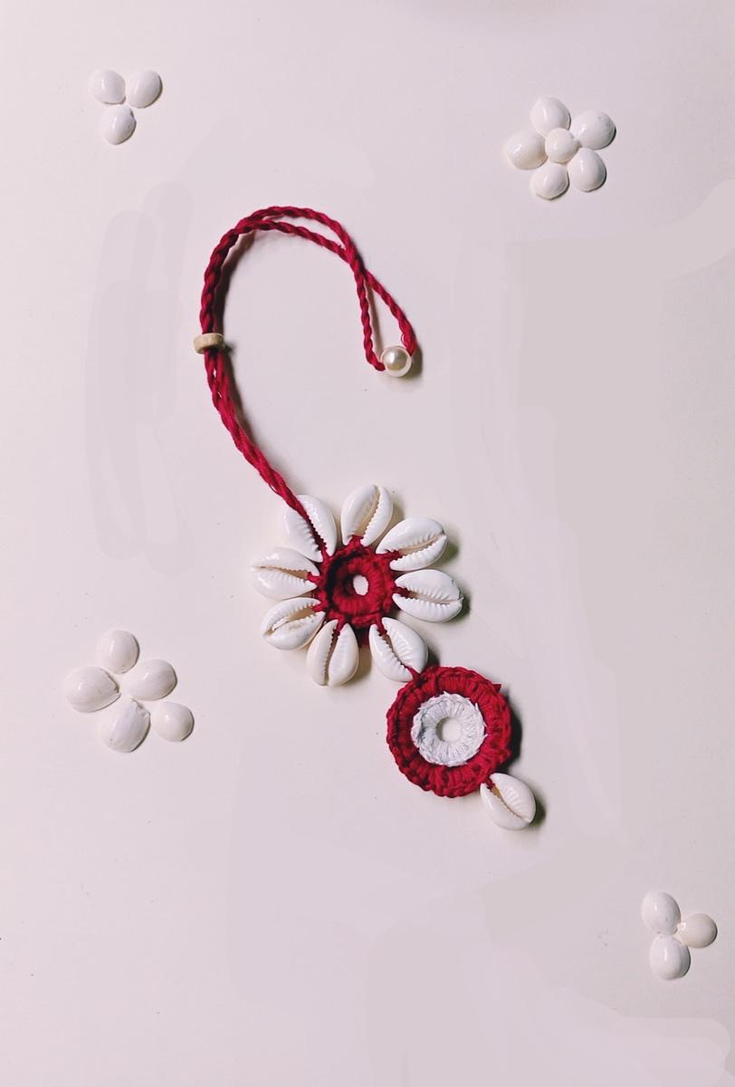 Handmade Crochet Lumba Rakhi 4