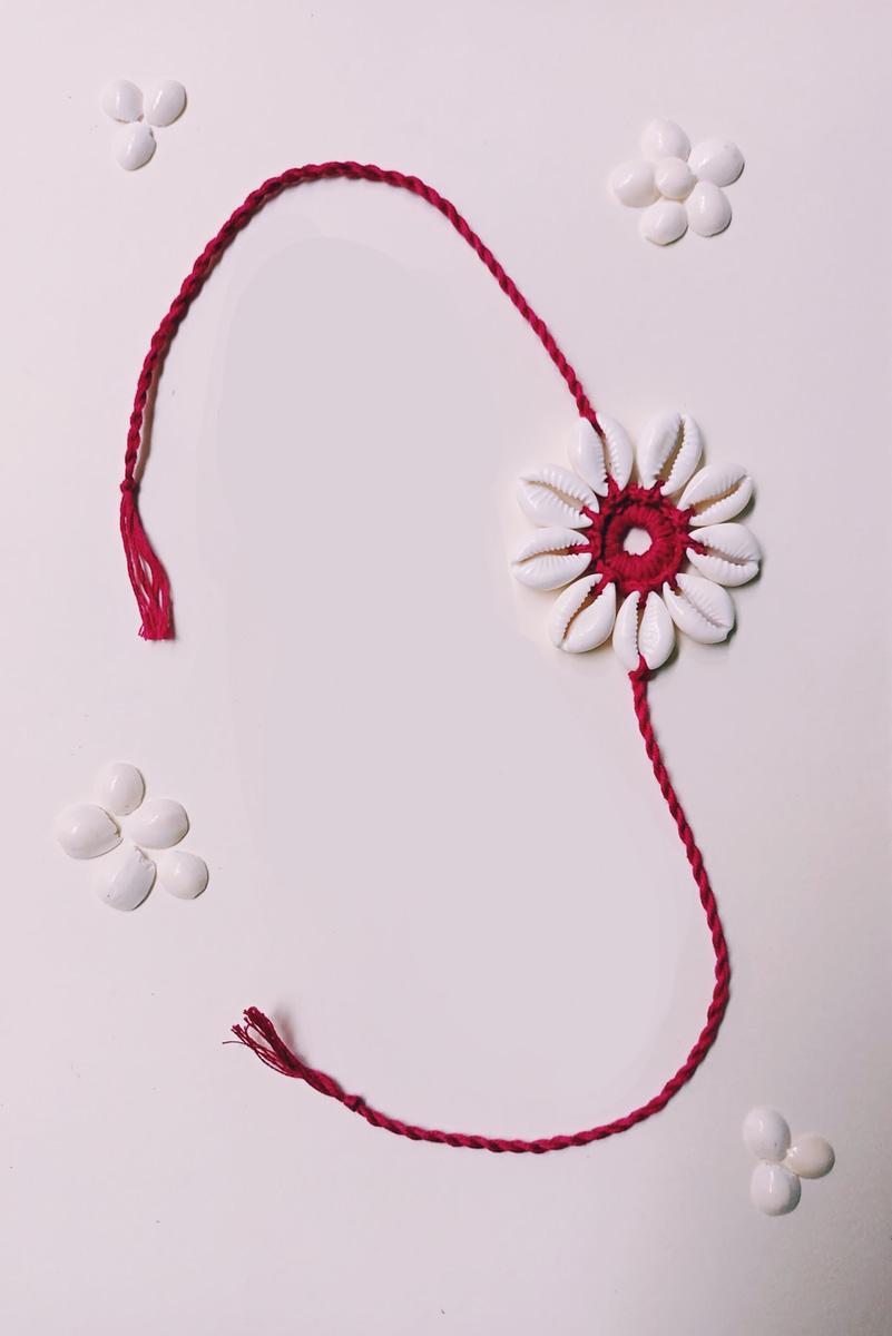 Handmade Crochet Lumba Rakhi 5