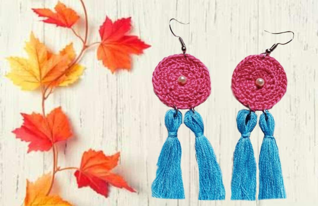Handmade Crochet earrings 3