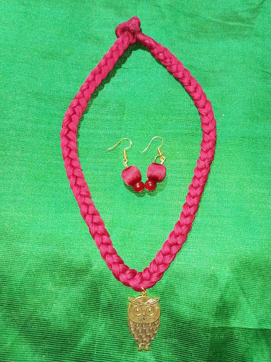 Handmade Crochet jewellery set 3