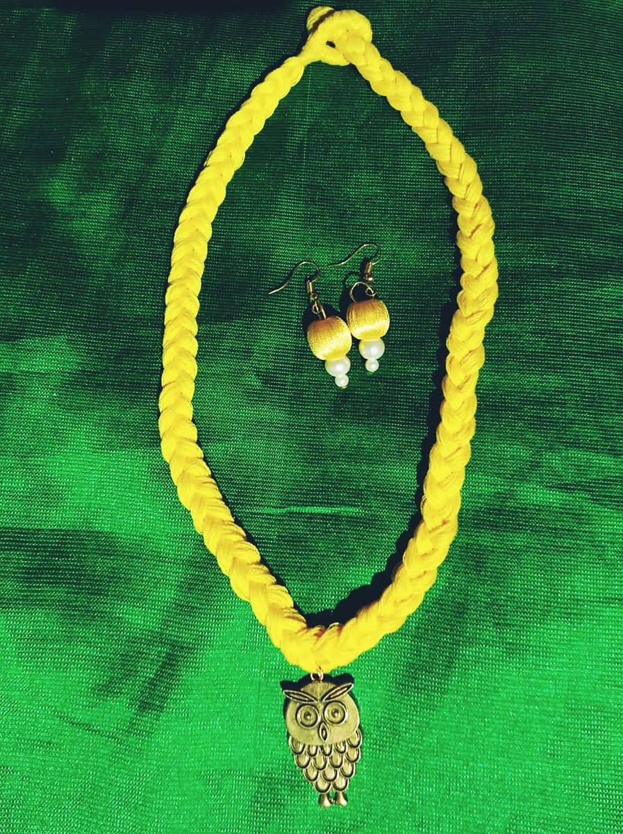 Handmade Crochet jewellery set 4
