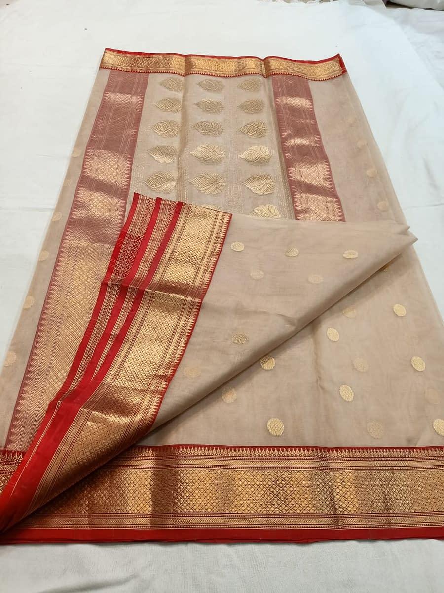 Handmade Chanderi Katan Silk 3