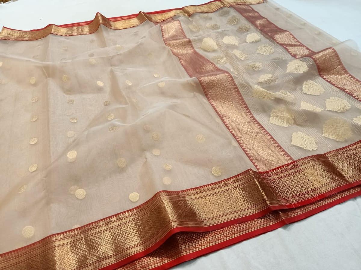 Handmade Chanderi Katan Silk 4