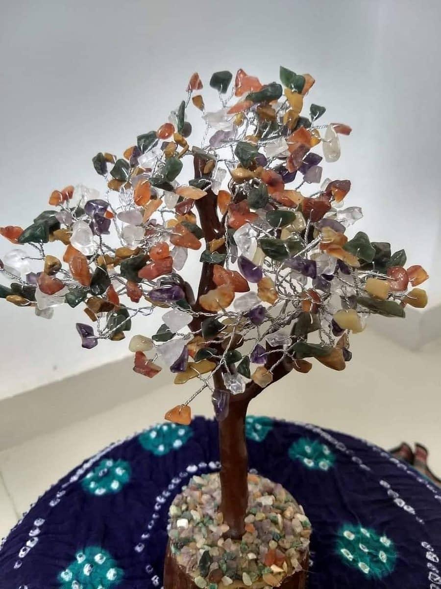 Handmade Multi chips tree 3