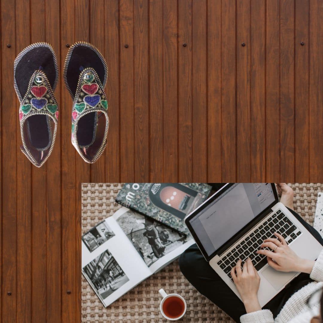 Handmade Stylish & comfortable Mojari 4