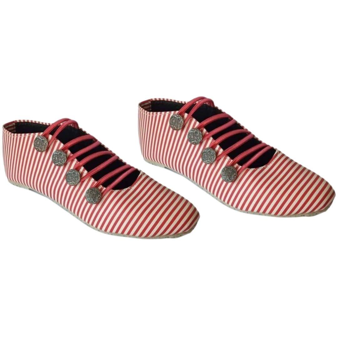 Handmade Pink Casual handmade shoes 4