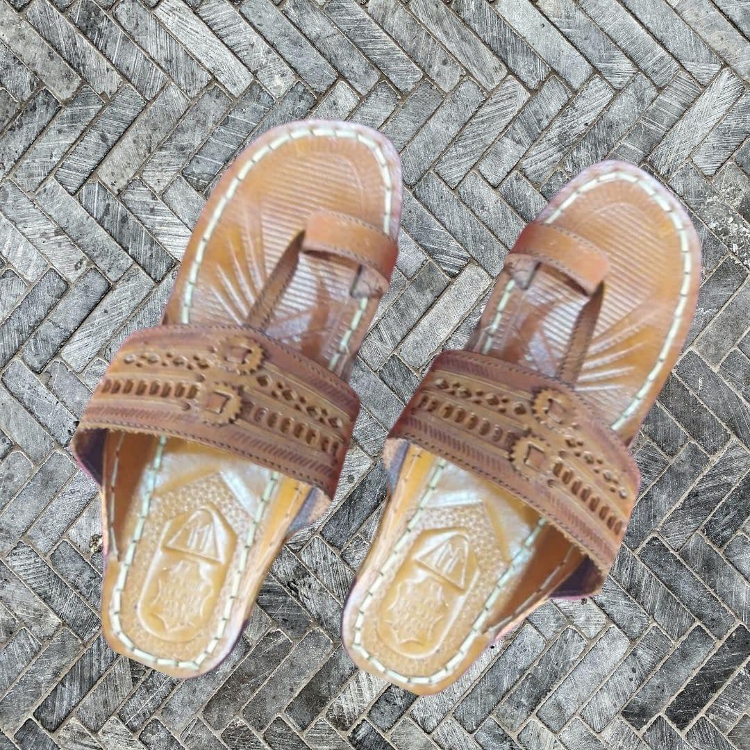 Handmade Handmade leather Chappal Brown 4