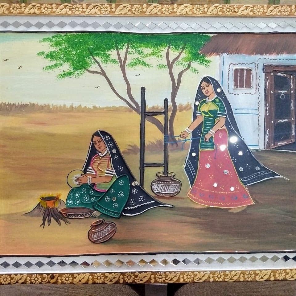 Handmade Mud-art painting 5