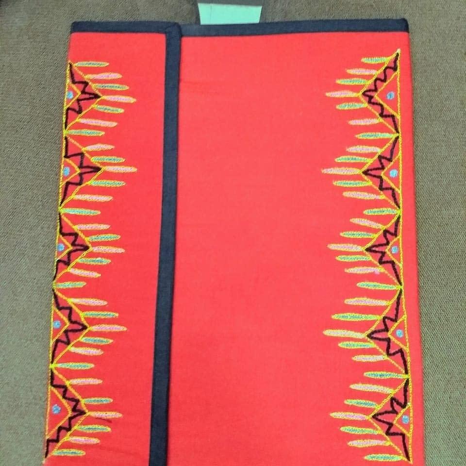 Handmade Fabric file-folder 3