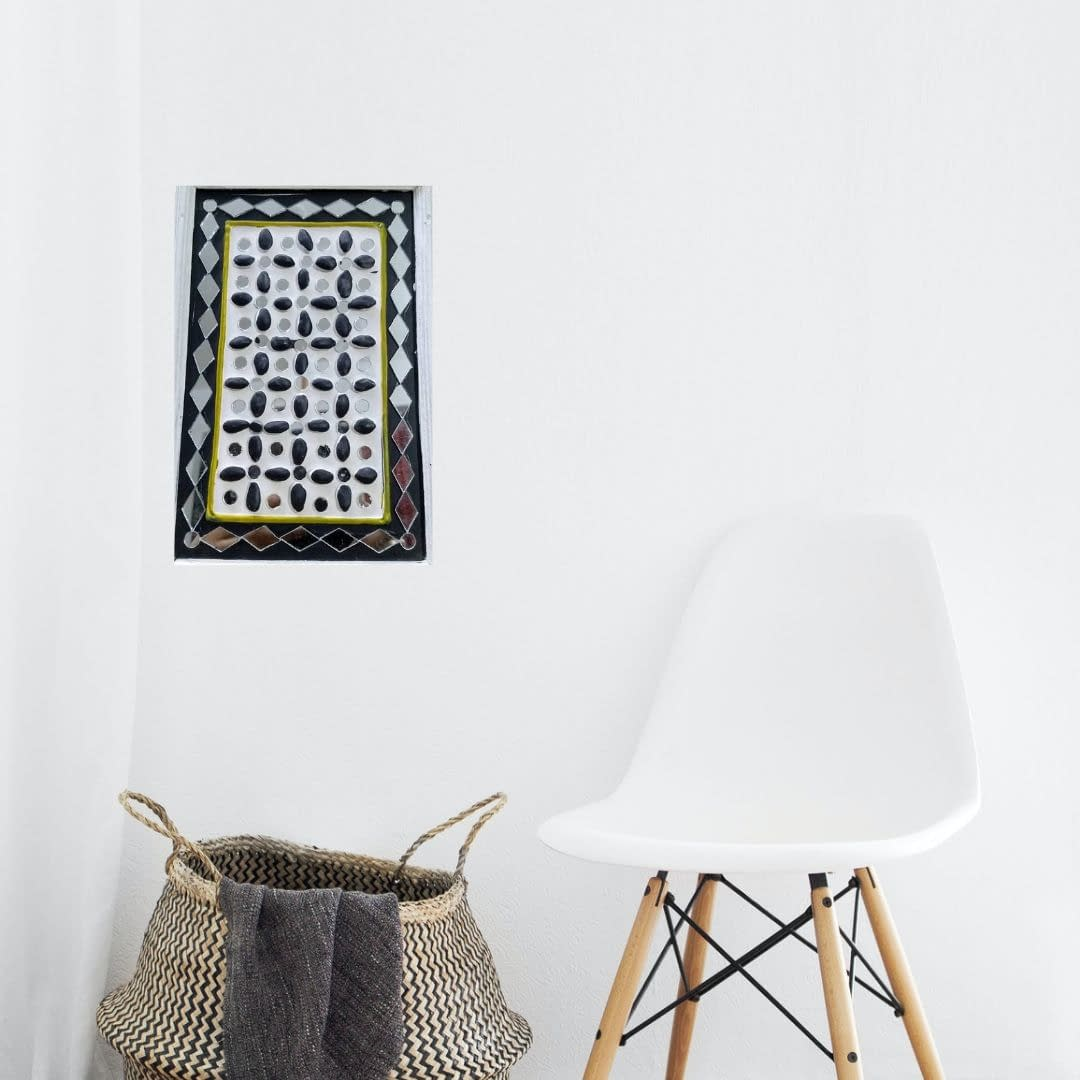 Handmade Mud-art Key-holder and decorative wall -hanging 3
