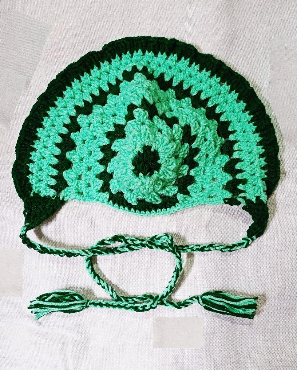 Handmade Crochet baby accessories combo set 6