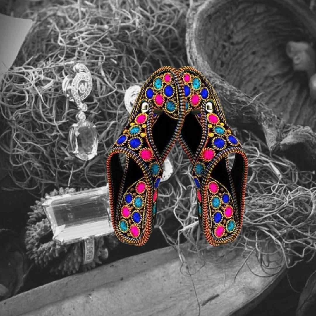 Handmade Rajasthani Styled slippers 3