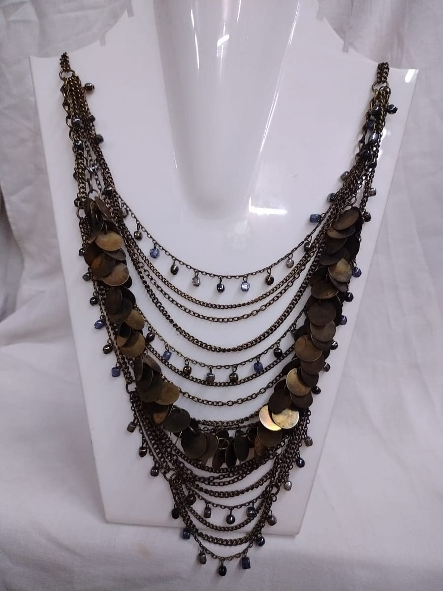 Handmade Tribal Necklace 4