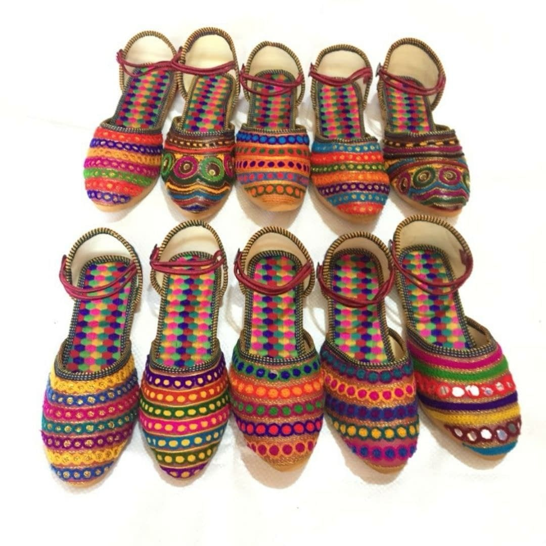 Handmade Latest Design Colorful Mojari 6