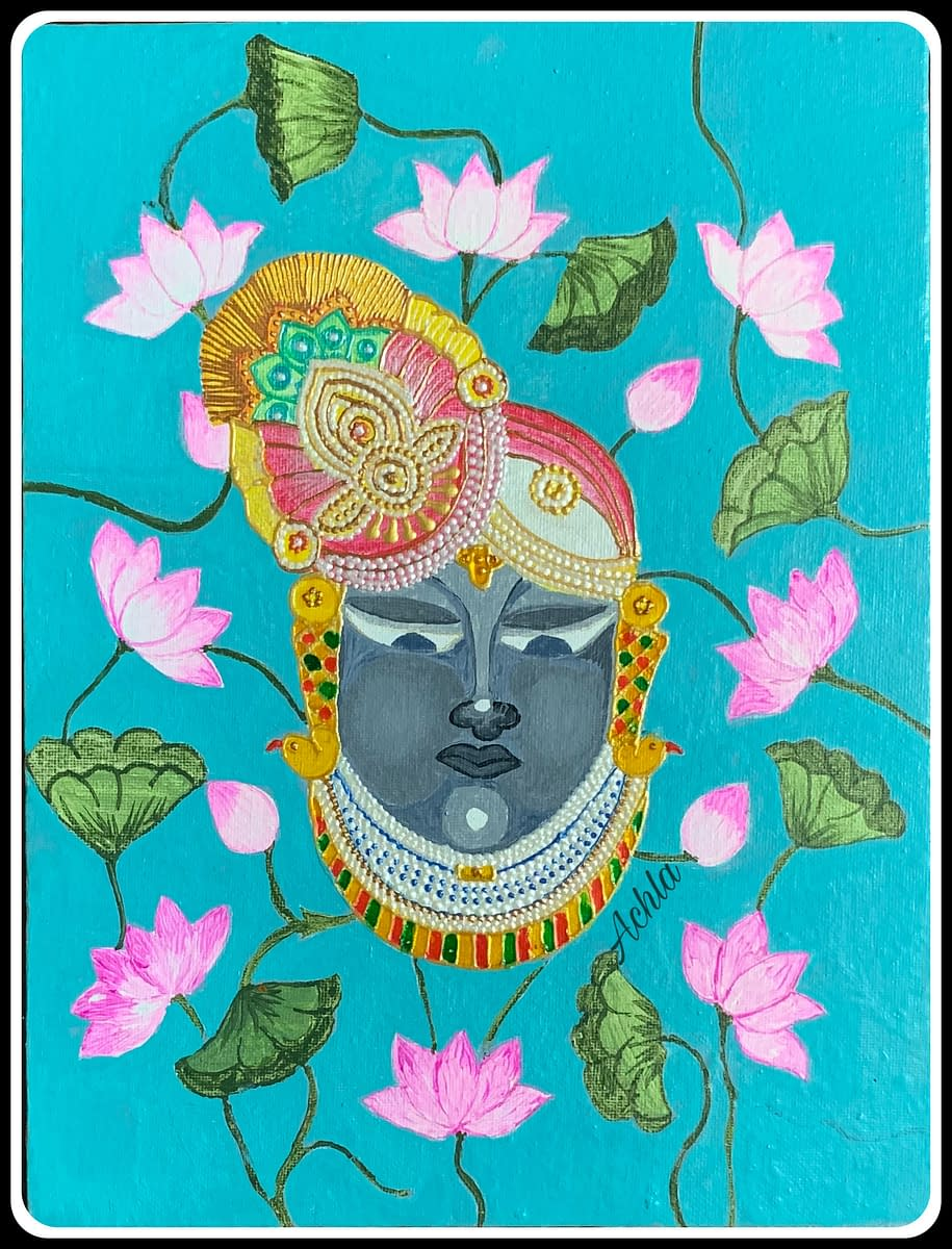 Handmade Lord Srinathji 3