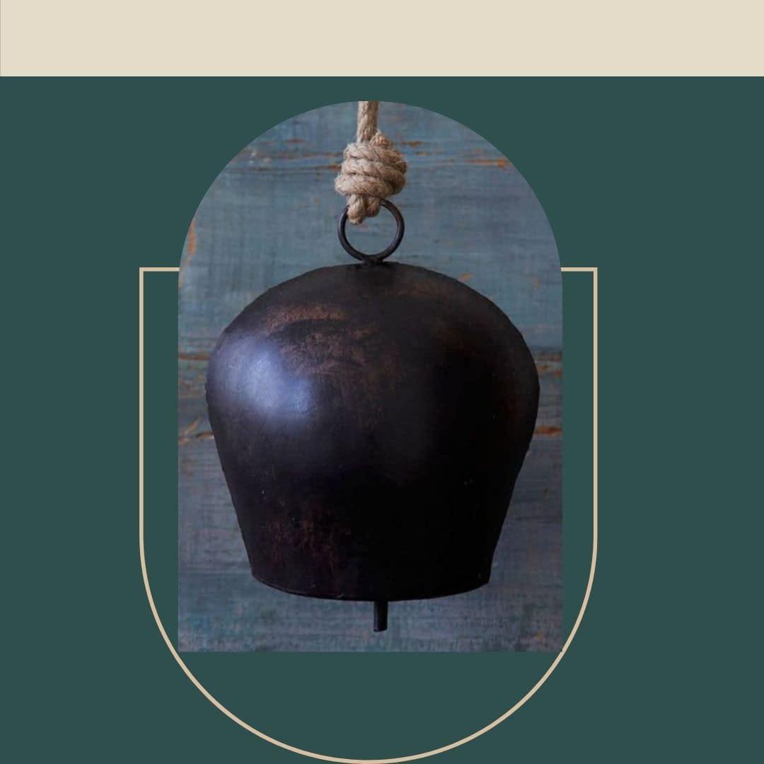 Handmade Black Sphere Bell 3