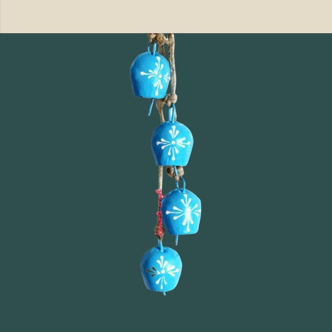 Handmade Blue Bells (Set of 4) 4