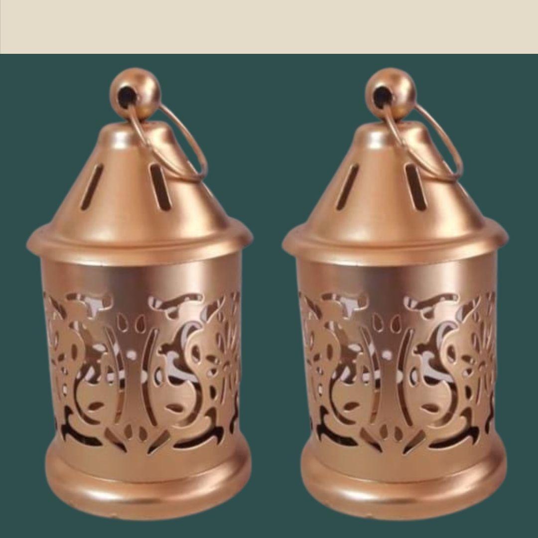 Handmade Brass Lamp (Set of 2) 4