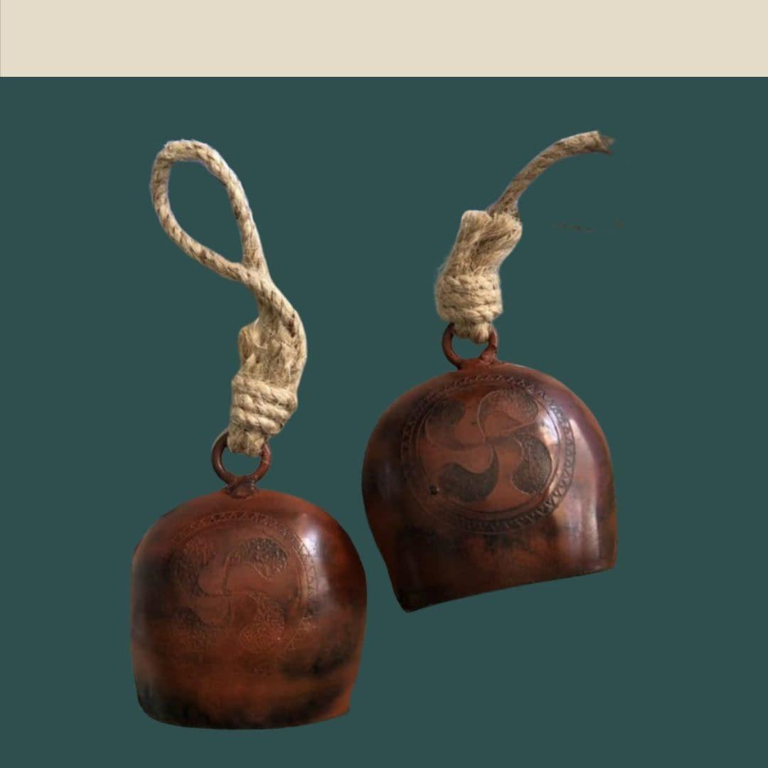 Handmade Copper Bell (Set of 2) 3