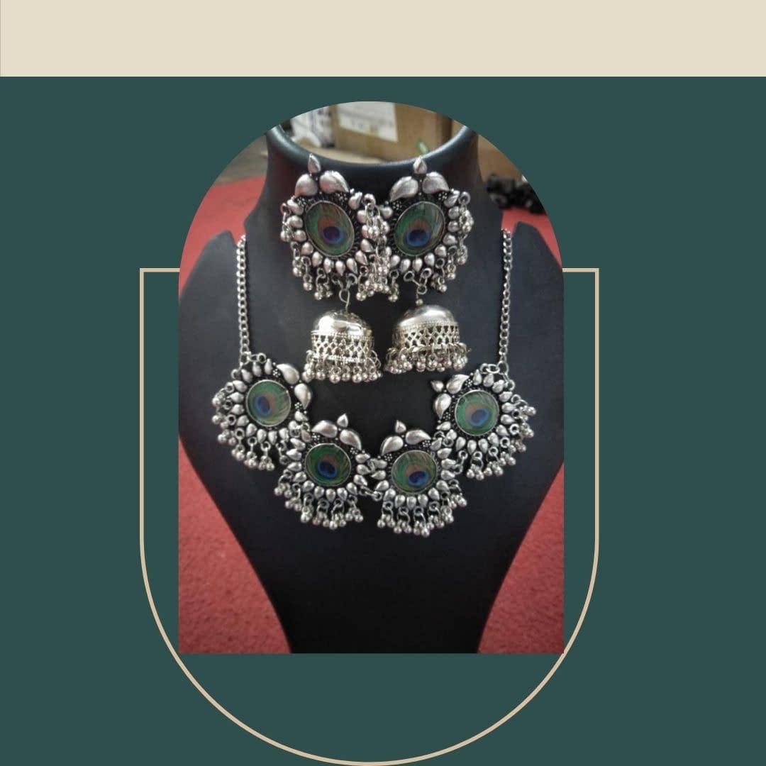 Handmade Morpankh necklace set 3