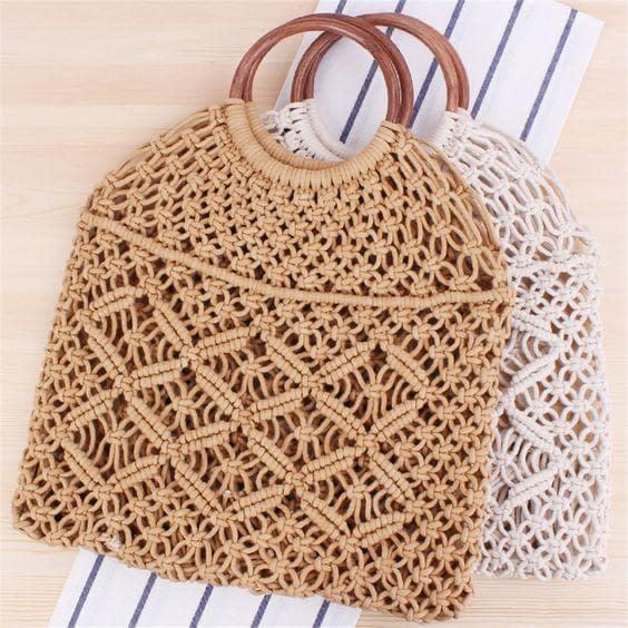 Handmade Crochet handbag (Setof 2) 3