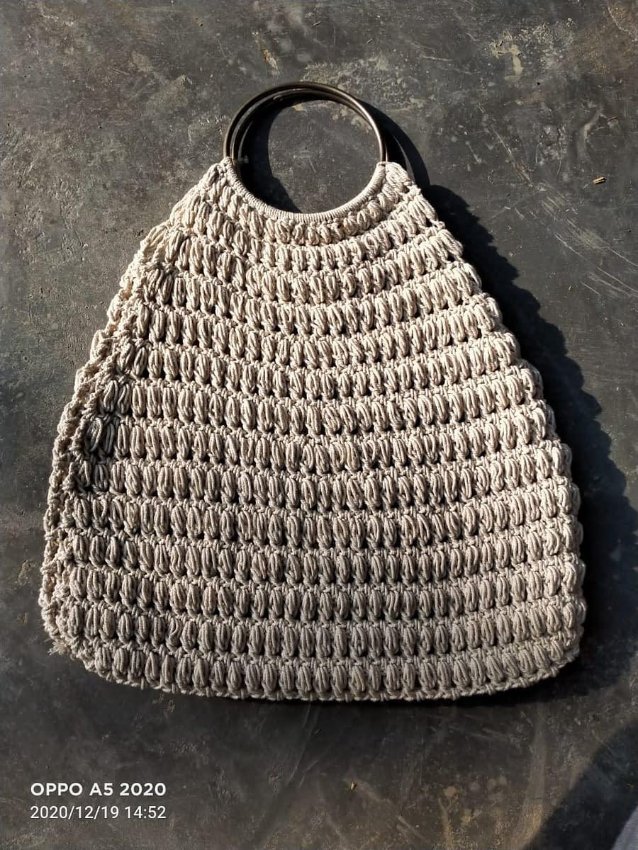 Handmade Crochet Handbag 3