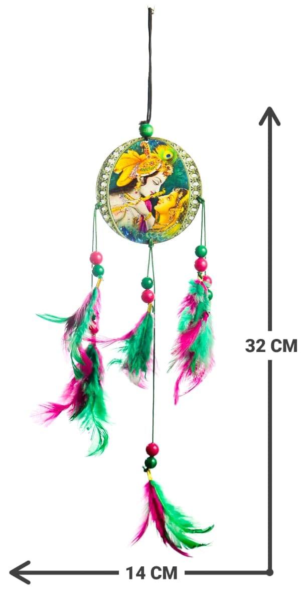 Handmade Radha Krishna Dream Catcher 4
